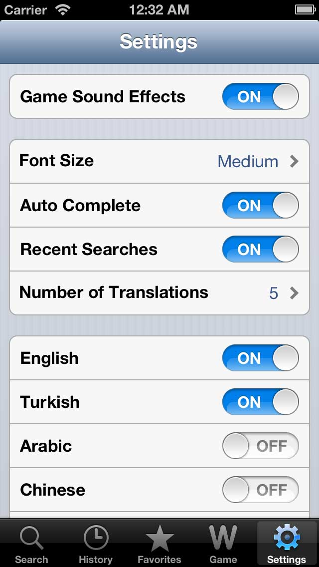 Sesli Sozluk iPhone Screenshot 5